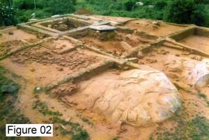 Figure 02 – Godawaya Image house excavation 1998