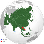 Sri Lanka and Laos