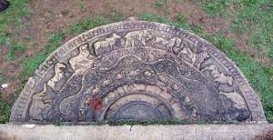 Moonstone - Sadakada Pahana - Anuradhapura- Near Thuparamaya