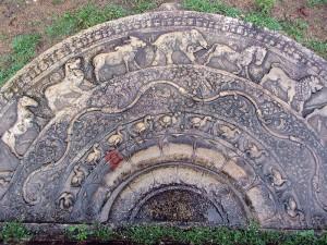 Moonstone - Sadakada Pahana - Anuradhapura- Near Thuparamaya - 02