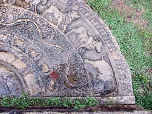 Moonstone - Sadakada Pahana - Anuradhapura- Near Thuparamaya - 04