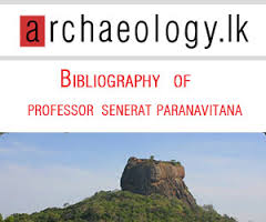 Bibliography of the published writings of Professor Senerat Paranavitana