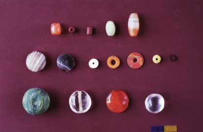 garnet_beads_with_different_shapes