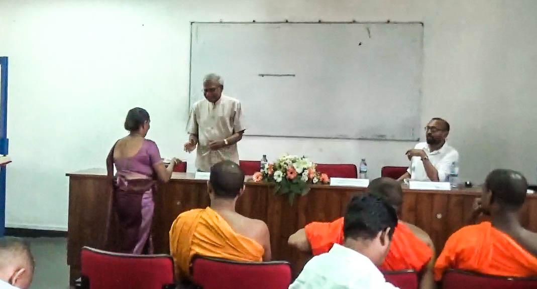 "Book Launch, ""Marga Puranaya"" by Dr. P. Vidanapathirana"