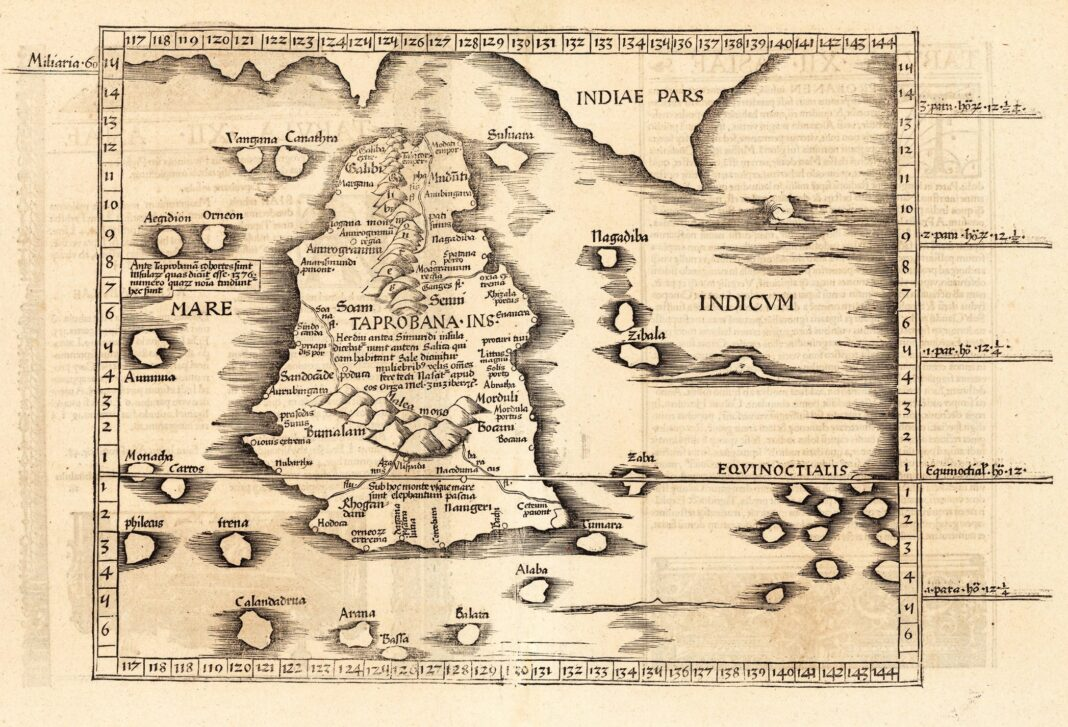 Ptolemy's_Taprobana