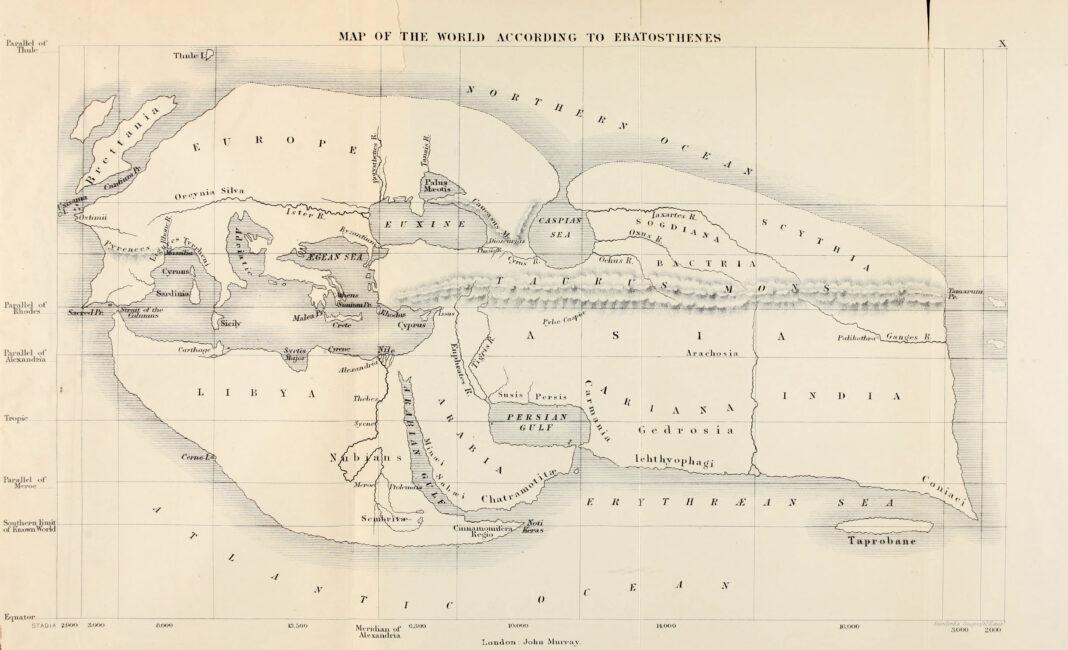 sri_lanka_ceylon_Eratosthenes_world_map