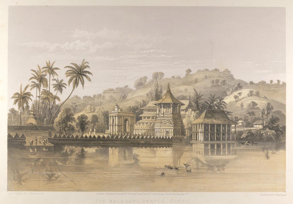 temple-sacred-tooth-relic-kandy-sri-lanka-Lithographlanka_old_Lithograph
