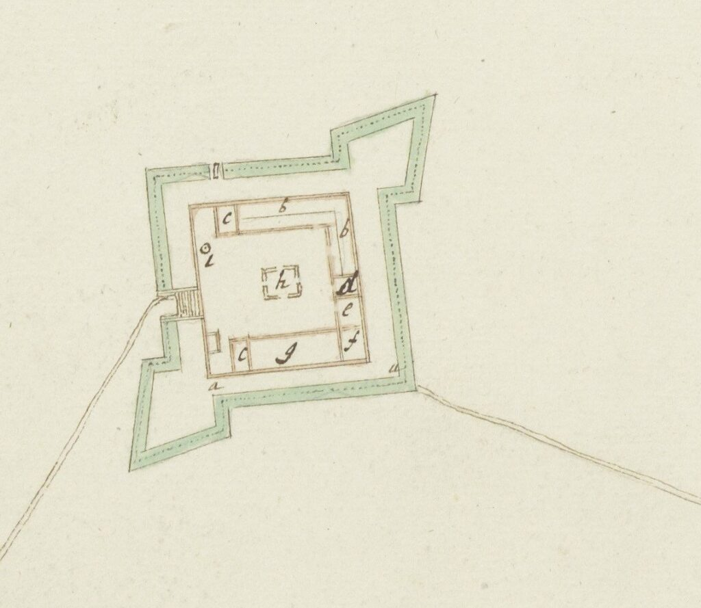Katuwana, 4.VEL 1075, ca.1695 Katuwana Fort excavatio