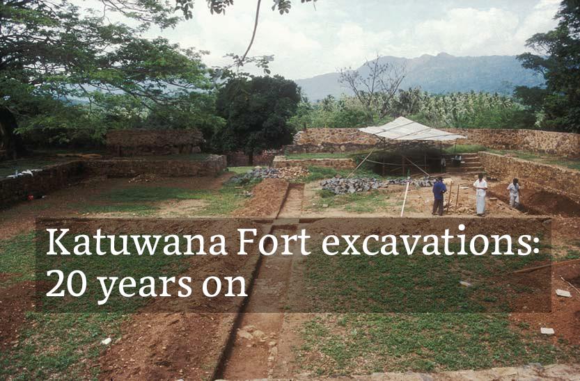 Katuwana Fort excavations